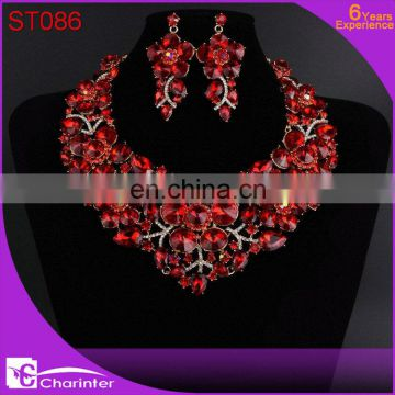 african crystal jewelry sets women ST083