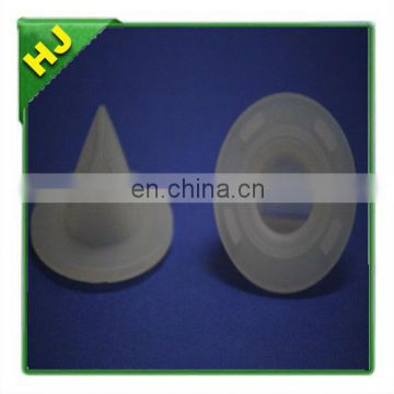 Silicone duckbill valve for breast pump