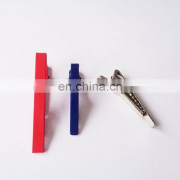 Cheap but high quality made in Chinese factory metal blank tie bar for promotional gifts