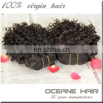 Large stock high quality one donor raw unprocessed virgin russian curly hair