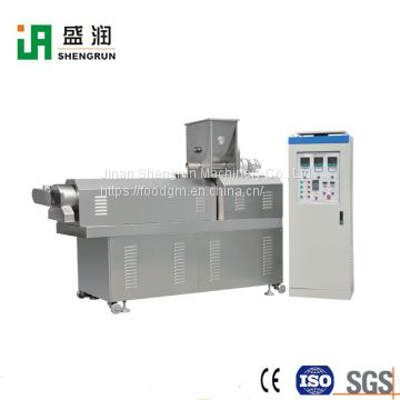 Extruded Corn Rice Snacks Cereal Snack Food Machinery