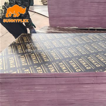 E1 best quality construction shuttering film faced plywood