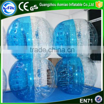 High quality Dia 1.2m small inflatable clear plastic ball,buddy bumper ball for kids                                                                                                         Supplier's Choice