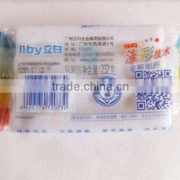 plastic bar soap packaging/liquid soap packaging stand up pouch/detergent plastic film in roll /washing powder wrapper