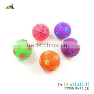 wholesale toy balls bouncing light up ball /with many colors