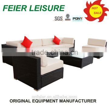 morden style pvc coated polyester outdoor furniture fabric sofa set