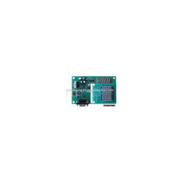 PLC based CAN-BUS serial communication control system control board