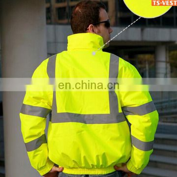 Motorcycle Winter jacket high visible jacket mens