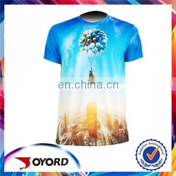 high quality custom wholesale oem design 3d digital printing t shirts