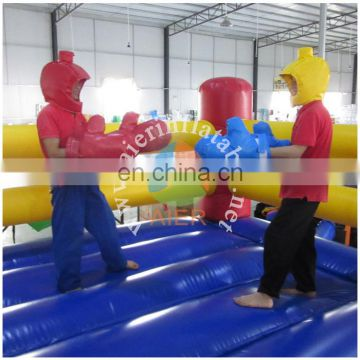 best selling boxing arena, commerical inflatable racing sport game