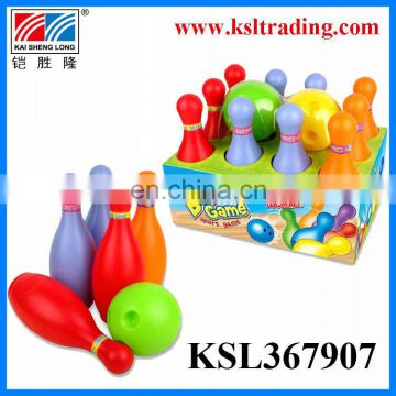 Lovely sport game plastic kids bowling game toys