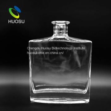 china manufacturer new products empty customized whiskey vodka glass drinking bottle