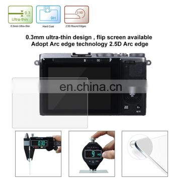PULUZ for Fujifilm X-70 Camera free blue films hot blue film tempered glass screen protector