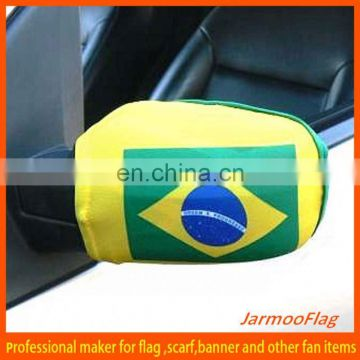 Soccer World Cup car mirror cover