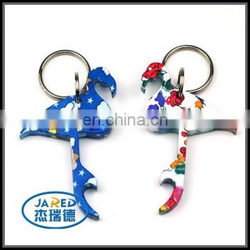 factory cheap beer bottle opener keychain from cangnan