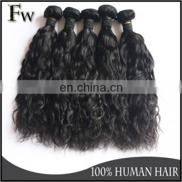 No tangle no shedding human hair 27 piece hair weave