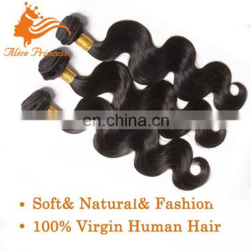 real tangle free brazilian virgin human hair weave body wave remy hair weft double drawn hair