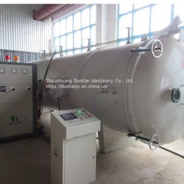 Woodworking machinery vacuum timber dryer with high frequency price
