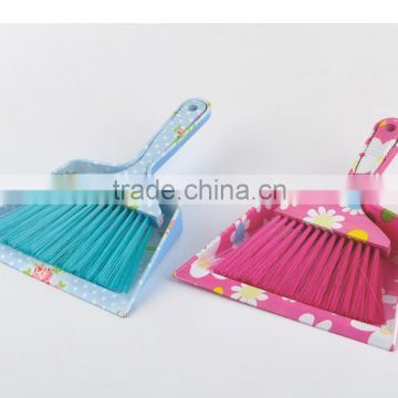 Standard Home Use Plastic Table Cleaning Plastic Broom Dustpan