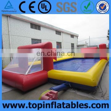 portable inflatable water soccer field