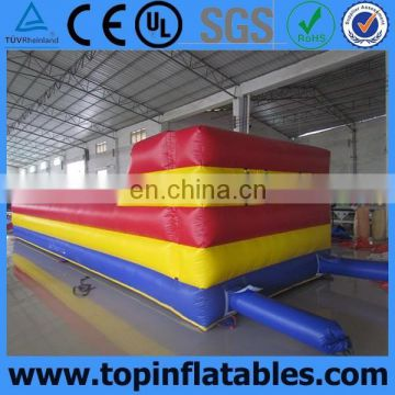Best seller 2 lines exciting inflatable bungee run for sale