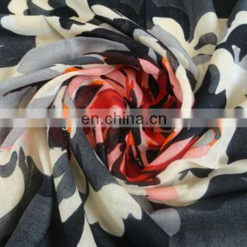 Fashion ladies' 100% wool scarf