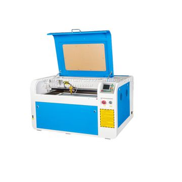 4060 50w 60w 80w co2 acrylic leather wood glass crystal small laser engraving machine