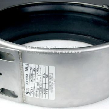 Double Lock Pipe Coupling (Pipe Repair with A 2 Lock Active Sealing System Coupling) (GRIP-D)