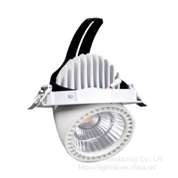 UL listed Gimbal LED Downlight, CREE 20W, 85-265vac, 0-80 Beam Angle adjustable, 3 years warranty