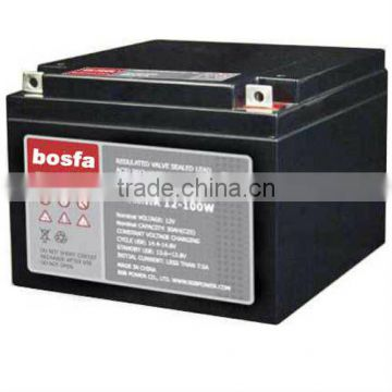 HR12-100W 12v31ah high rate battery 12v 31ah high performance batteries dry charged maintenance free lead acid battery