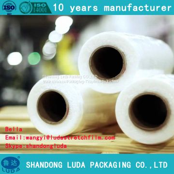 various customized machine LLDPE packaging Stretch wrap film roll production process