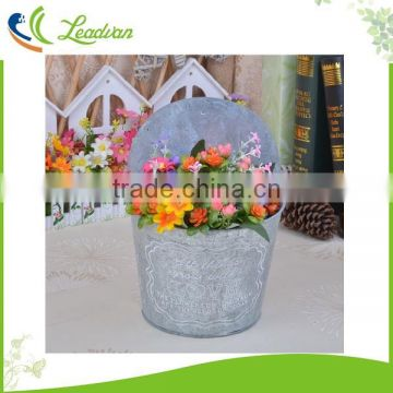 Outdoor Decoration Half Round Herb Wall Planter Of Half Round Flower
