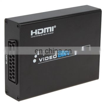 Full HD 1080P SCART to HD Converter With Scaler Adapter Box