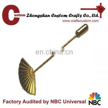 High quality antique long needle lapel pin