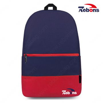 New Contrast Color Backpack for Teens