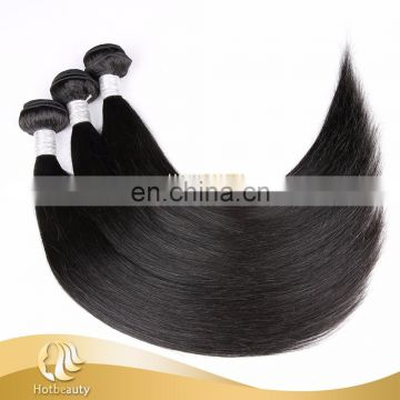 Straight style hair extension, Peruvian hair cheap