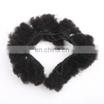 One Donor 6A Unprocessed Tight Afro Kinky Curly Hair,100% Brazilian Human Hair Extensions