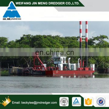 24inch RIver Cutter Suction Sand Dredger for Coastal Construction