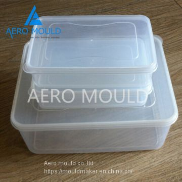 Plastic Thin Wall Food custom Injection Container Mold