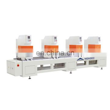 Hot Sale 2017 Four-head PVC Win-door Seamless Welding Machine Price