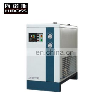 Low pressure loss brand refrigerated compressed air dryer