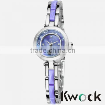 New fashion of women's slim wrist watch , low price and good apperance