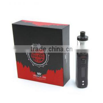 China Supplier UD Balrog 70w TC mod kit comes with 3ml Balrog tank 70w youde Balrog box mods