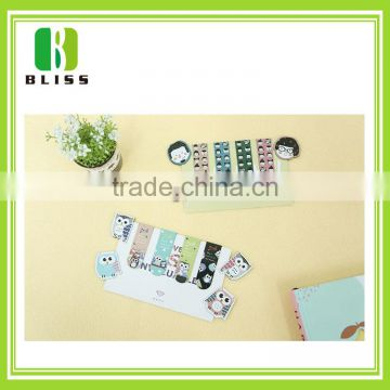 hot sale oem small order book cover folding magnetic anime bookmarks printable