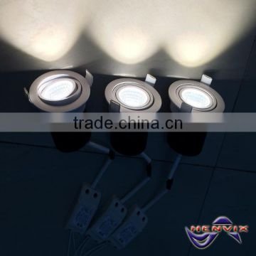 dimmable 10w 80mm cut out led downlight with CE ROHS