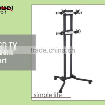 Video Wall Mount Rolling Portable LED TV Mounting Bracket