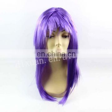 (DX-JQ-0374)PURPLE BARZILIAN FULL LACE WIGS