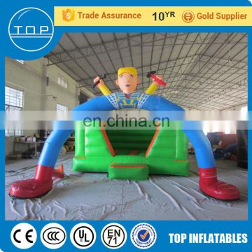 Hot selling bubble tent custom inflatable halloween arch for kids
