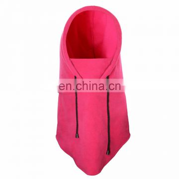 Hot sell Pink color Fleece/Polyester Multifunction Winter balaclava