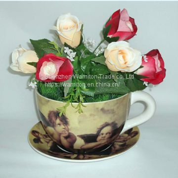 2017 most top wholesale garden  pottery bonsai  and saucer panter